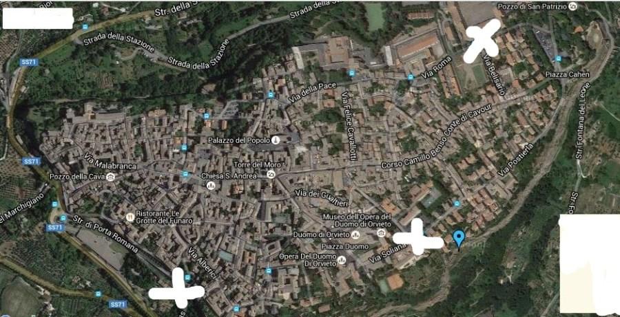 W Orvieto libera. Dalle auto. Una polemica che dura da quarant'anni