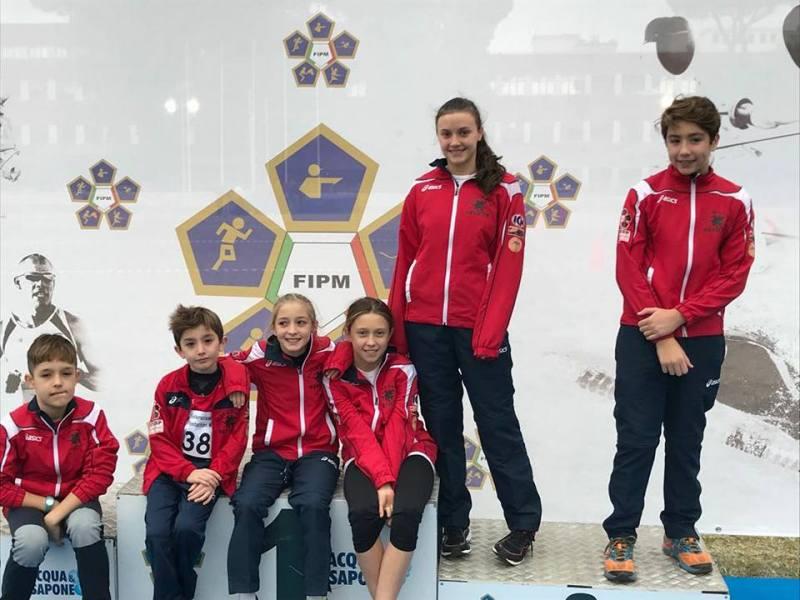 Uisp Orvieto Medio Tevere: Grande esordio di stagione per il Pentathlon Moderno Orvietano
