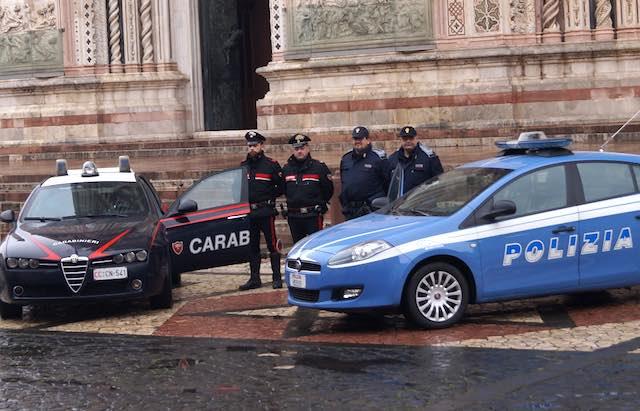 Giro di vite di carabinieri e polizia per una maggiore sicurezza. Città presidiata contro furti e rapine