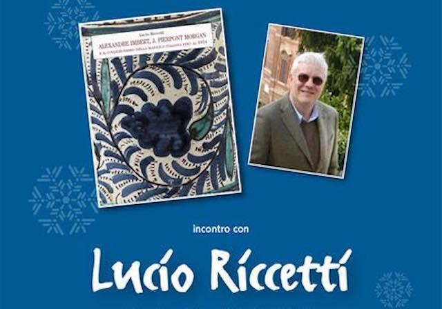 Lucio Riccetti presenta il suo ultimo libro alla Fondazione Marco Besso