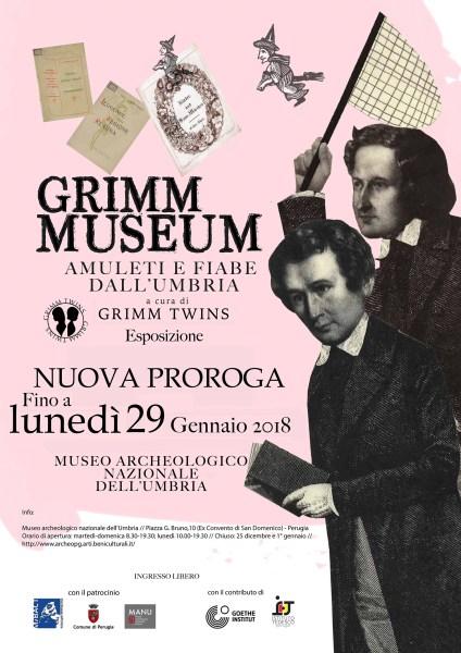 """""""Grimm Museum. Amuleti e fiabe dall'Umbria"""" mostra prorogata fino al 29 gennaio"""