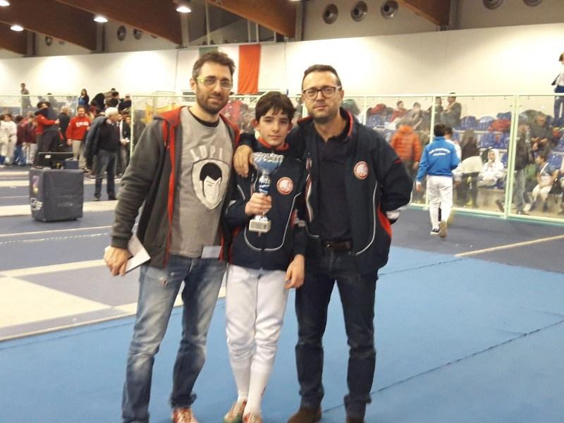 Lorenzo Rocchigiani porta in trionfo la Uisp Scherma Orvieto nella seconda Prova Interregionale