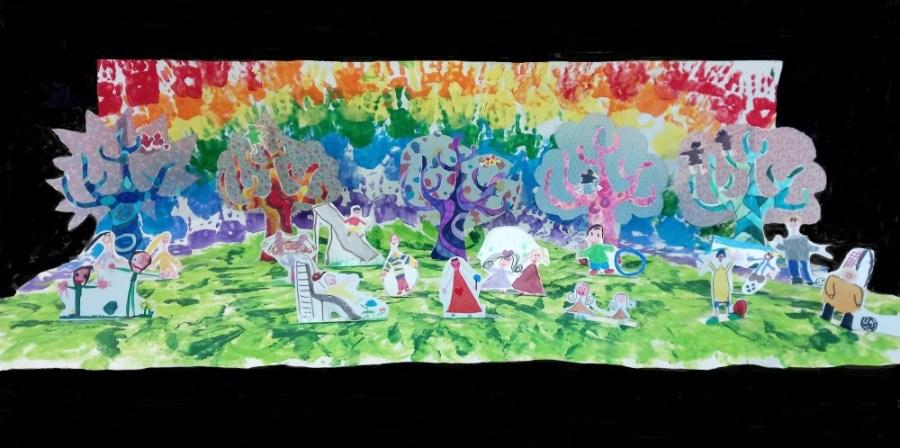 """""""I 100 colori del mondo"""" , in concorso anche la Scuola dell'Infanzia di Acquapendente"""