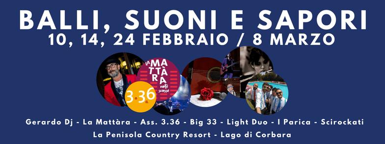 """""""Balli, Suoni e Sapori"""", alla Penisola il concerto del """"Light Duo"""" per il giorno di San Valentino"""