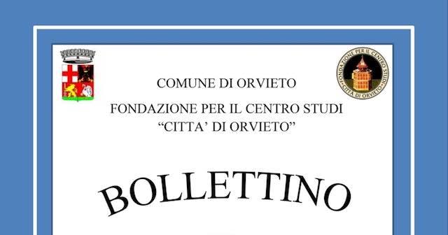 Presentazione del Bollettino Area Orvietana 2017 al Centro Documentazione di Parrano