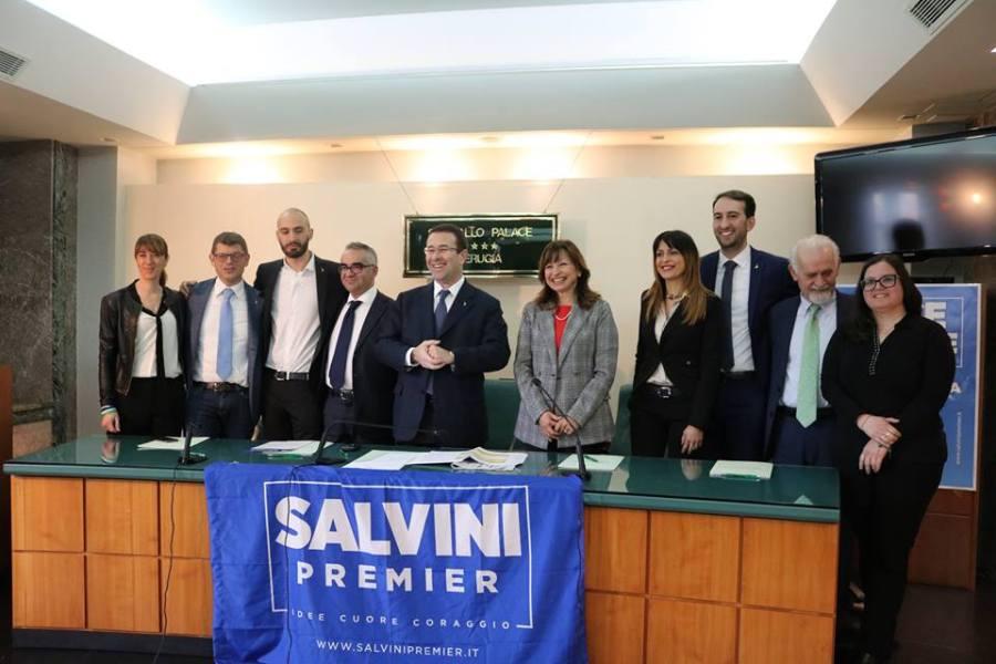 Inaugurazione sede elettorale Lega – Salvini Premier a Orvieto