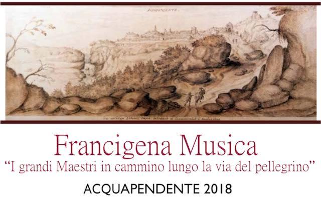 """""""I grandi Maestri in cammino lungo la via del pellegrino"""", presentato il progetto di Francigena Musica"""