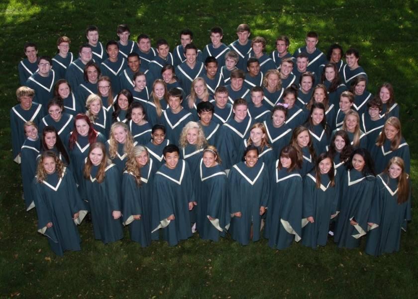 Rosemount college corale e coro della cattedrale del Duomo in concerto alla chiesa di Sant'Andrea