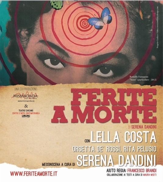 """""""Ferite a Morte"""", al Teatro Mancinelli arriva il progetto sul femminicidio scritto da Serena Dandini"""