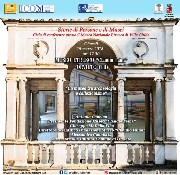 Storie di Persone e di Musei: alla scoperta della storia del Museo Etrusco Claudio Faina