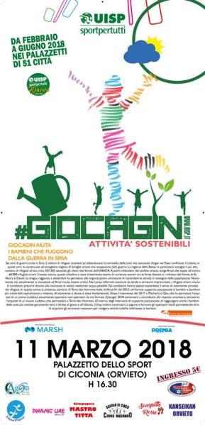 """Al motto di """"Il divertimento in movimento"""" anche Orvieto partecipa a Uisp #Giocagin"""