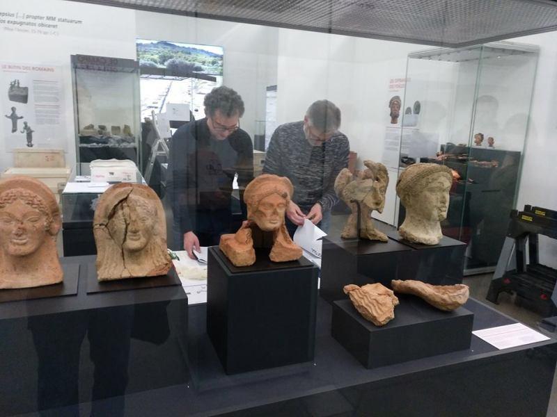 """Al Musée national d'histoire et d'art del Lussemburgo si apre """"Il luogo celeste degli Etruschi"""""""