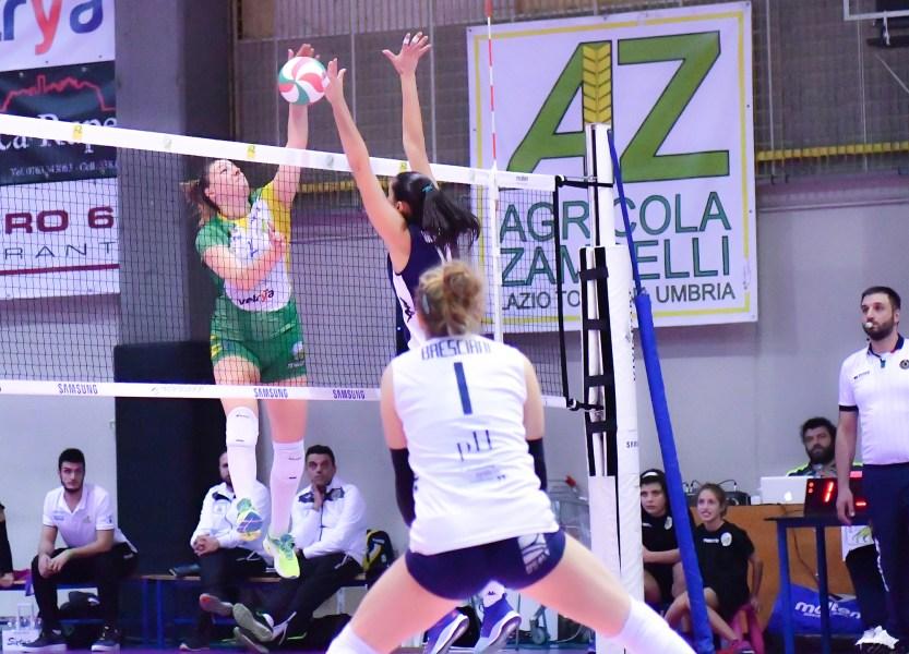 Laura Grigolo pronta a spingere la Zambelli Orvieto nei play-off