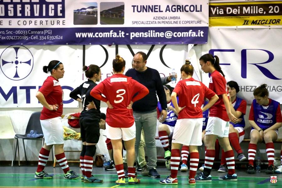Orvieto Fc, le ragazze fine settimana intenso per le maglie rosa del futsal