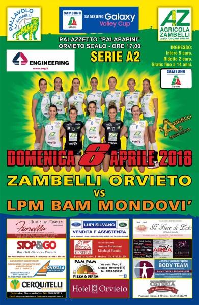 Muzi e Zonta caricano la Zambelli Orvieto per il gran finale