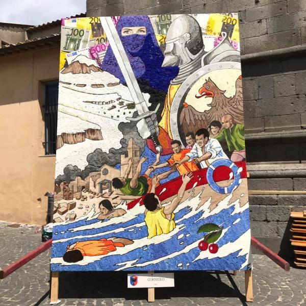 Presentazione del Gruppo Corniolo per la Festa dei Pugnaloni 2018 ad Acquapendente