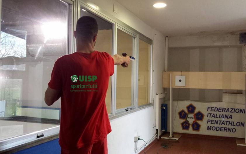 Inaugurata la Sala di Tiro con pistola laser dell'Asd Pm Pertica Orvieto