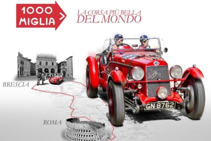 La 1000 Miglia pronta ad attraversare Orvieto, arriva la corsa più bella del mondo