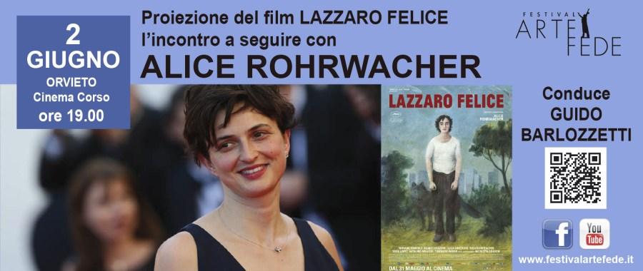 """""""Lazzaro Felice"""" di Alice Rohrwacher chiude il Festival di Arte e Fede"""