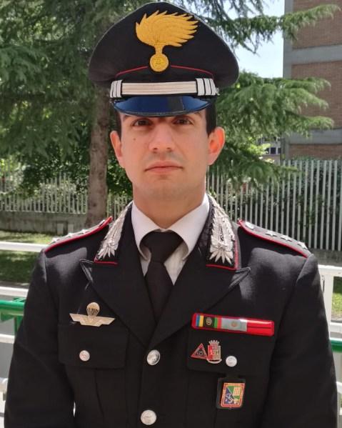 Il comandante della Compagnia Carabinieri Giuseppe Viviano promosso a capitano