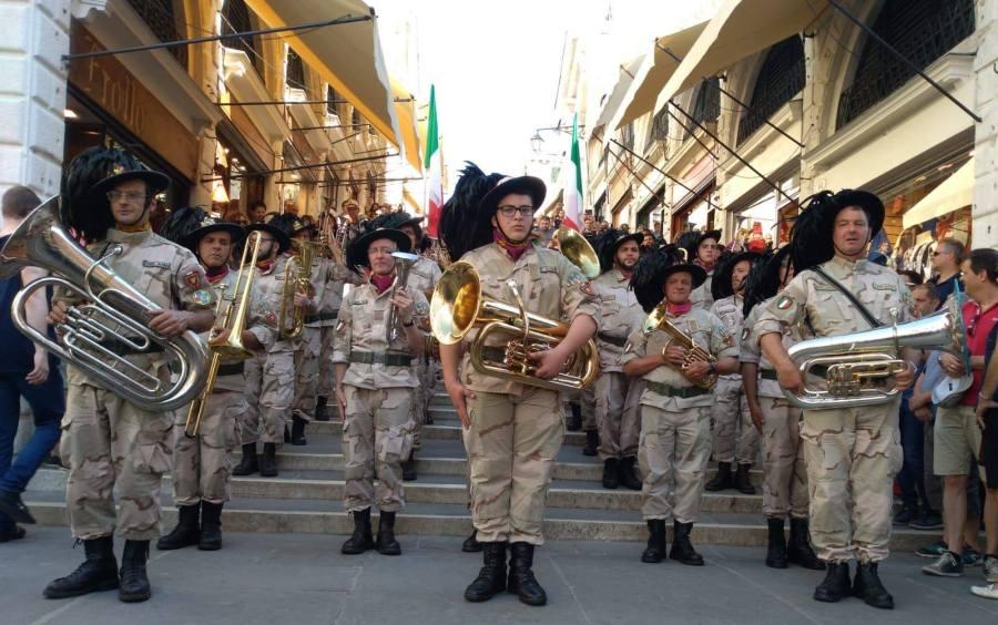 La Fanfara dei Bersaglieri di Torre Alfina ha preso parte al Raduno Nazionale Bersaglieri a San Donà di Piave