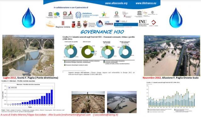 A Orvieto seminario nazionale sui nuovi scenari di governance delle risorse e dei rischi naturali