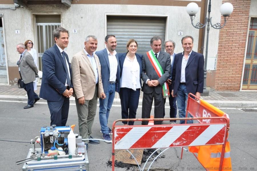 Inaugurato a Castel Giorgio il primo cantiere del piano regionale per la banda ultra larga