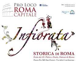 Infiorata storica di Roma, i Pugnaloni aquesiani arrivano nella Capitale