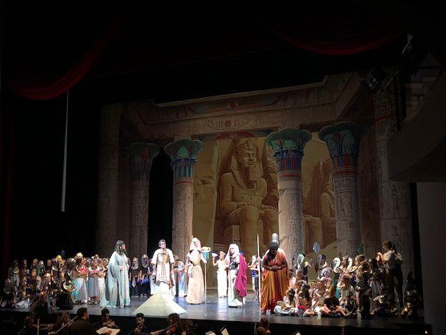 EuropaInCanto: studenti dell'Istituto comprensivo Orvieto-Baschi in scena all'Eliseo di Roma con l'Aida