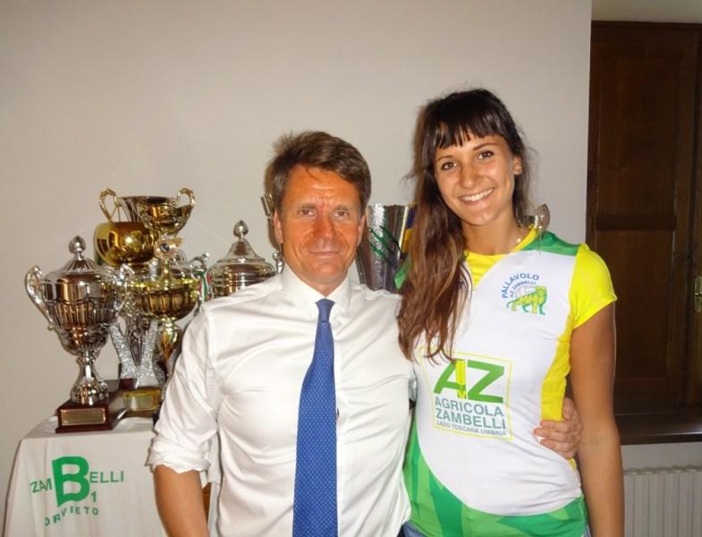 Con Sofia D'Odorico si fortifica la Zambelli Orvieto, alla riscossa le tigri gialloverdi