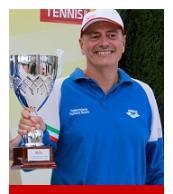 """Michele Sordillo trionfa al Torneo classico nazionale TPRA """"Halle Open maschile"""""""