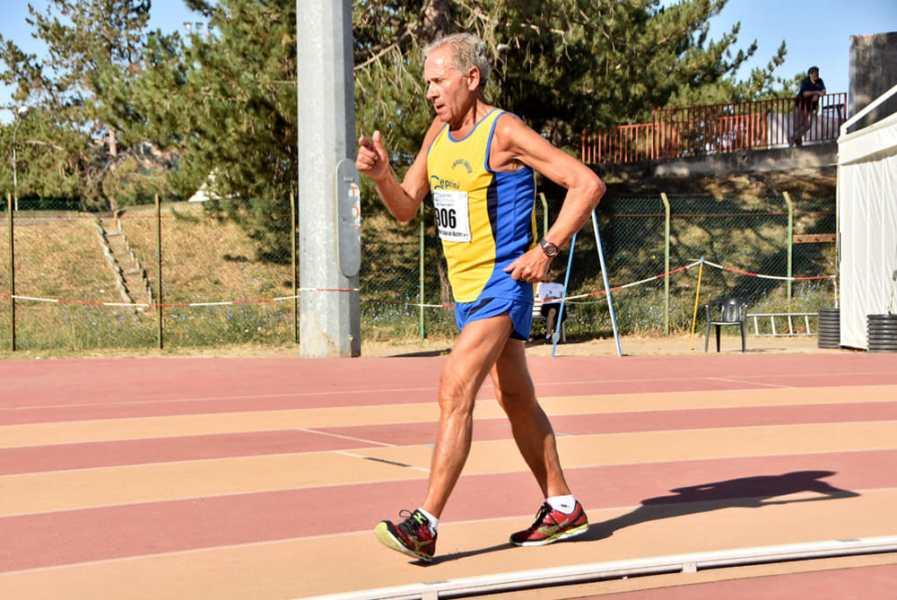 Nuovo record mondiale della categoria M80 sui 5 km di marcia realizzato in 28.03:34 dall'orvietano Romolo Pelliccia
