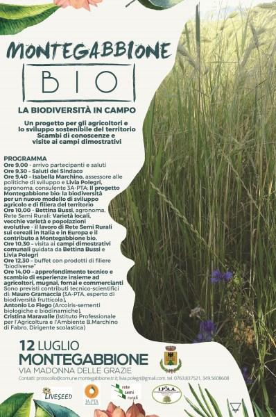 """Biodiversità in campo e sviluppo sostenibile con """"Montegabbione Bio"""""""