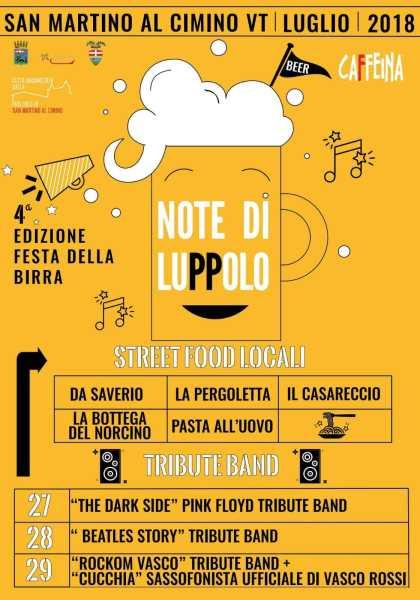 A Note di Luppolo oltre quaranta birre artigianali  in degustazione
