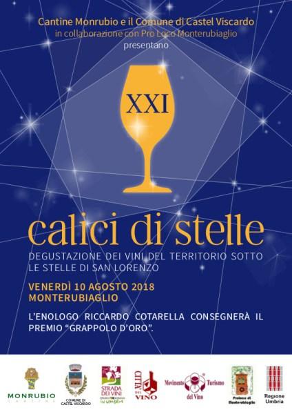 """""""Calici di Stelle 2018"""", Castel Viscardo festeggia con Bacco la notte di San Lorenzo"""