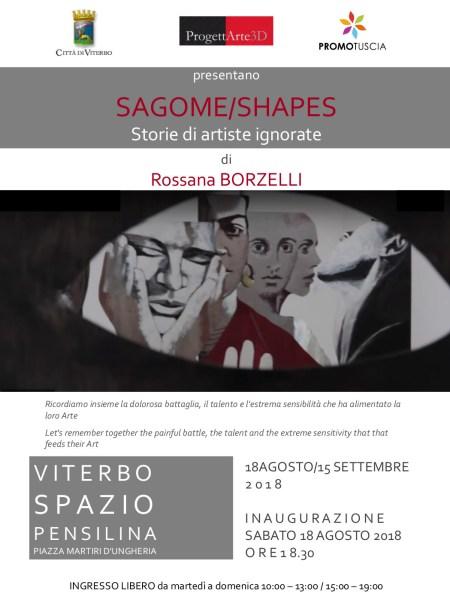 Allo Spazio Pensilina di Viterbo in mostra le opere di Rossana Borzelli