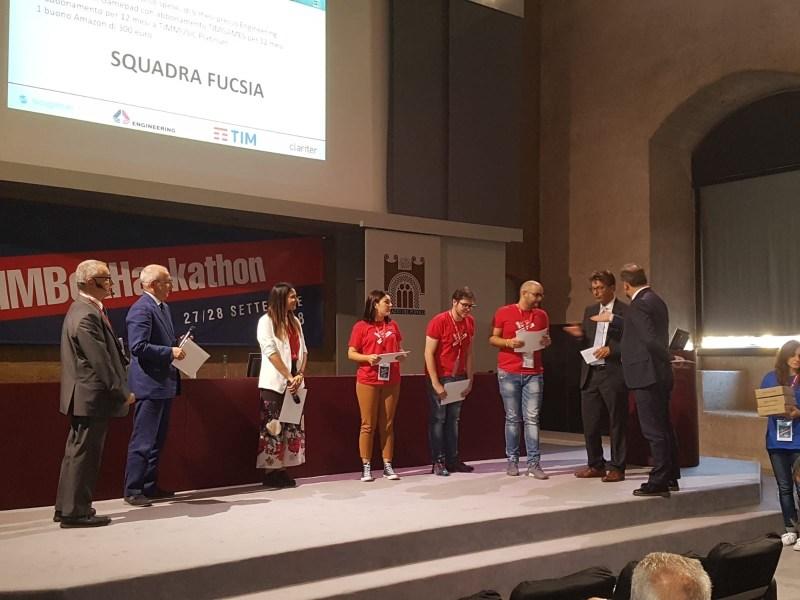 "TIM Box Hackathon: primo premio al progetto ""TimReality"""