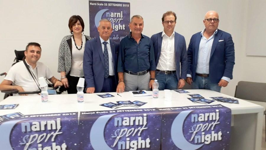 """Sette campioni testimonial della VII edizione di """"Narni Sport Night"""""""