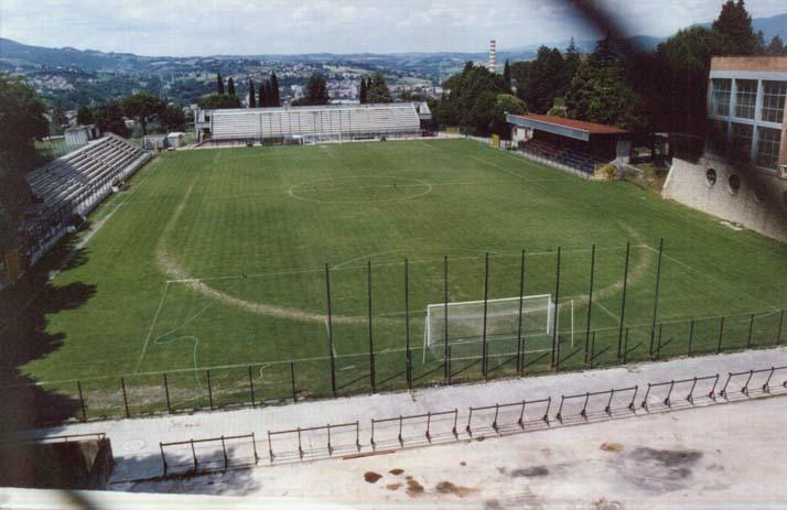 A Narni, cerimonia di intitolazione dello stadio a Moreno Gubbiotti