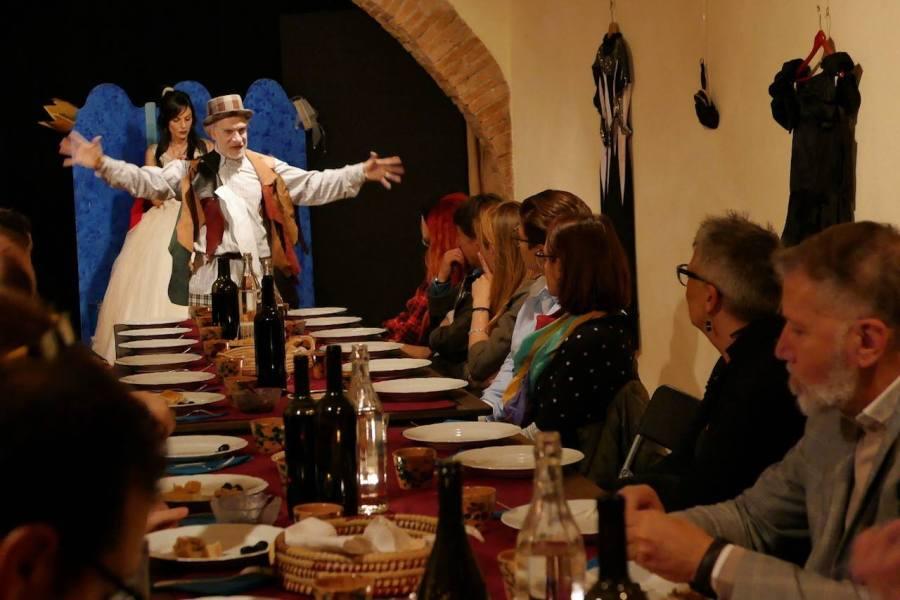 A Civitella D'Agliano riapre l'Osteria da Shakespeare & co. Di e con Gianni Abbate