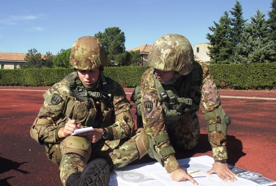Sotto il controllo del colonnello Cristian Margheriti, si sono concluse le esercitazioni del corso Esempio a Viterbo