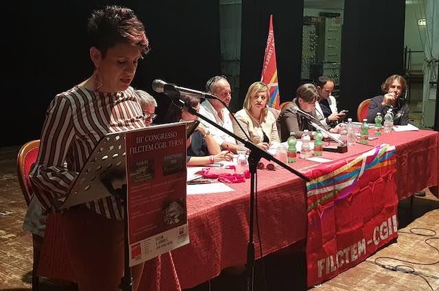 L'orvietana Marianna Formica confermata alla guida della Filctem Cgil