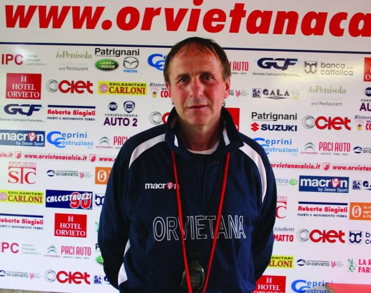 Orvietana Calcio, esce Zampagna entra Silvano Fiorucci. Ecco il nuovo allenatore
