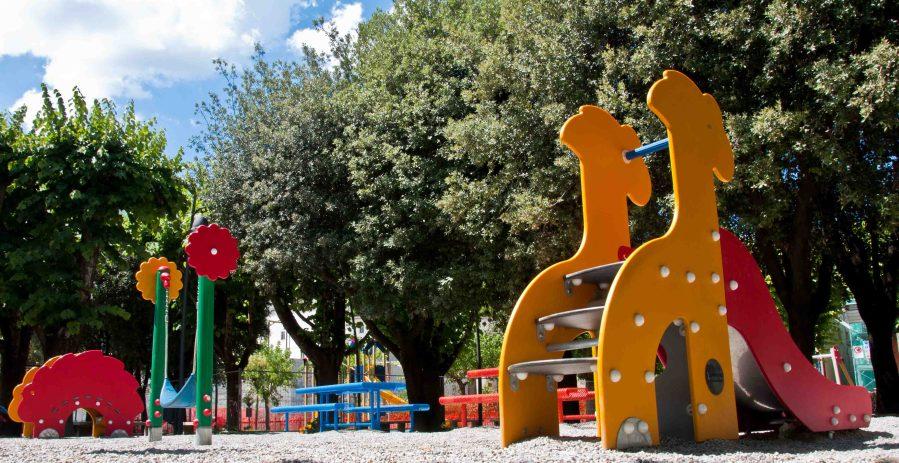 Progetto di riqualificazione chiosco e area giochi nei giardini di Amelia