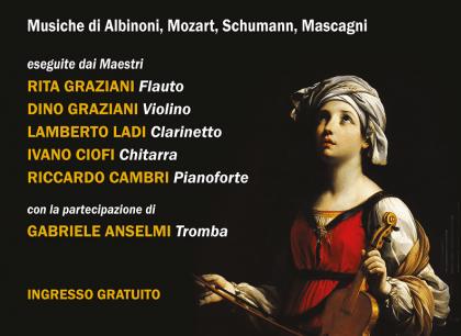 """""""Piccolo Concerto di Santa Cecilia"""", a Palazzo Simoncelli"""