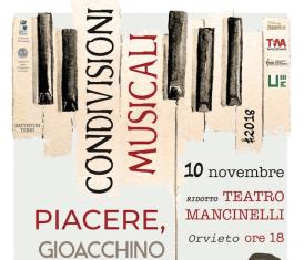 Condivisioni Musicali #2018 apre con un omaggio a Rossini