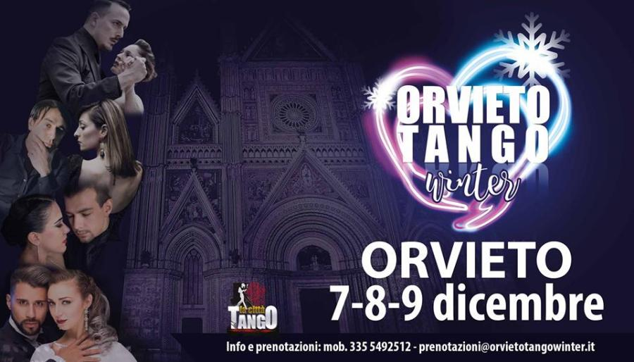 """Sulla Rupe è tangomania, in arrivo """"Orvieto Tango Winter"""""""