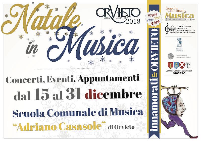 Natale in musica #2018. Tanti eventi per Innamorarsi di Orvieto