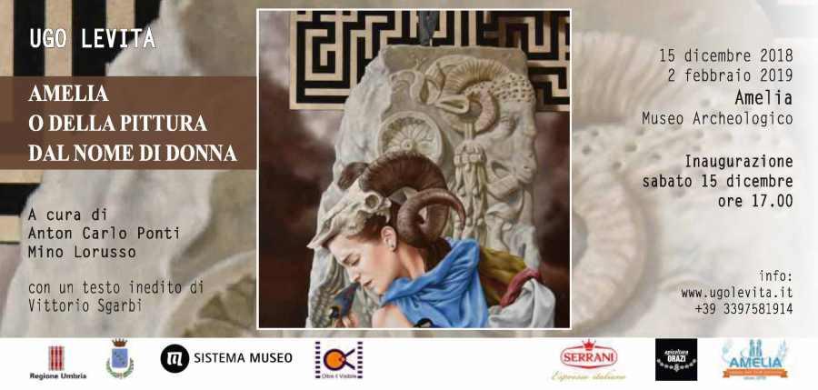 Ad Amelia mostra pittorica di Ugo Levita e rassegna cinematografica surrealista