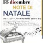 """""""Note di Natale"""", i piccoli pianisti della scuola comunale alla chiesa della Cava"""